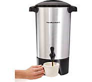 Hamilton Beach 42-Cup Coffee Urn with Ready-to-Serve Light - K125279