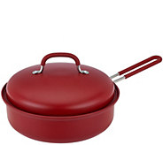 3qt Covered Round Nonstick BBQ Pan by MarkCharles Misilli - K42379