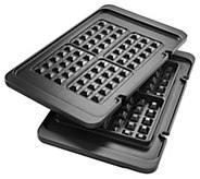 DeLonghi Waffle Plates for Livenza Electric All-Day Grill - K376981