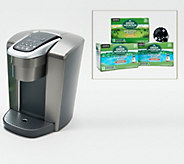 Keurig K-Elite Coffee Maker with My K-Cup Filter and 42 K-Cup Pods - K48781