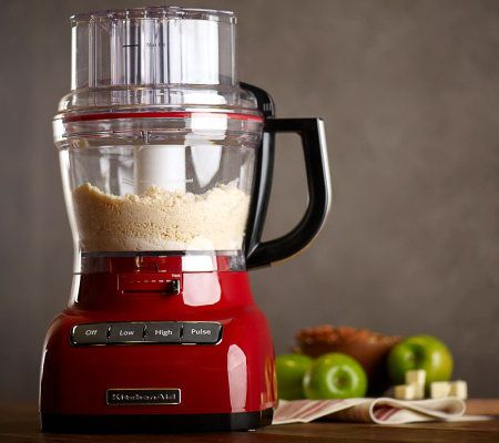 KitchenAid 13 Cup 3-in-1 Wide Mouth Food Processor w/ Accessories ...
