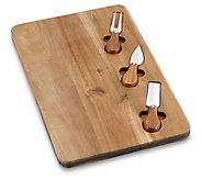 Cuisinart 4-Piece Acacia Cheese Board with Accessories - K376083