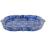 Temp-tations Floral Lace Square Deep Dish Lid-I t - K379984