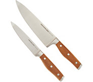 Rachael Ray Acacia 8 Chef and 6 Utility Knife Set - K46184
