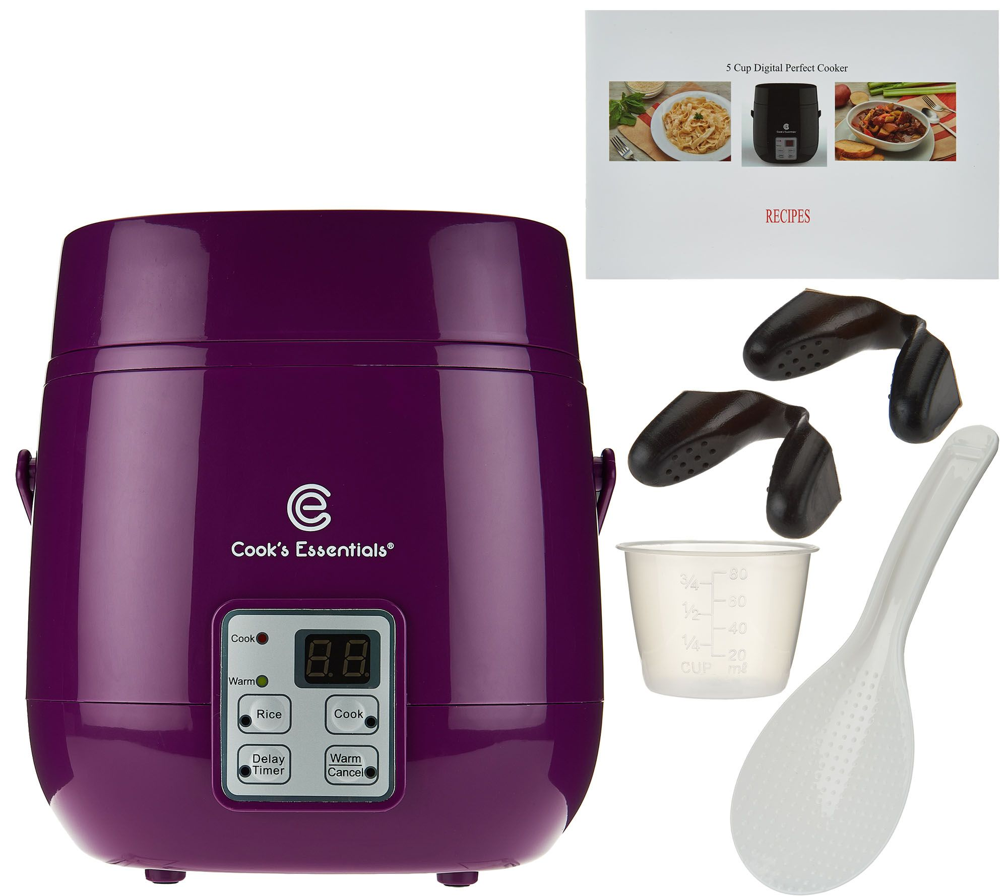 Cooks Essentials 5 Cup Digital Perfect Cooker W Recipes Page 1