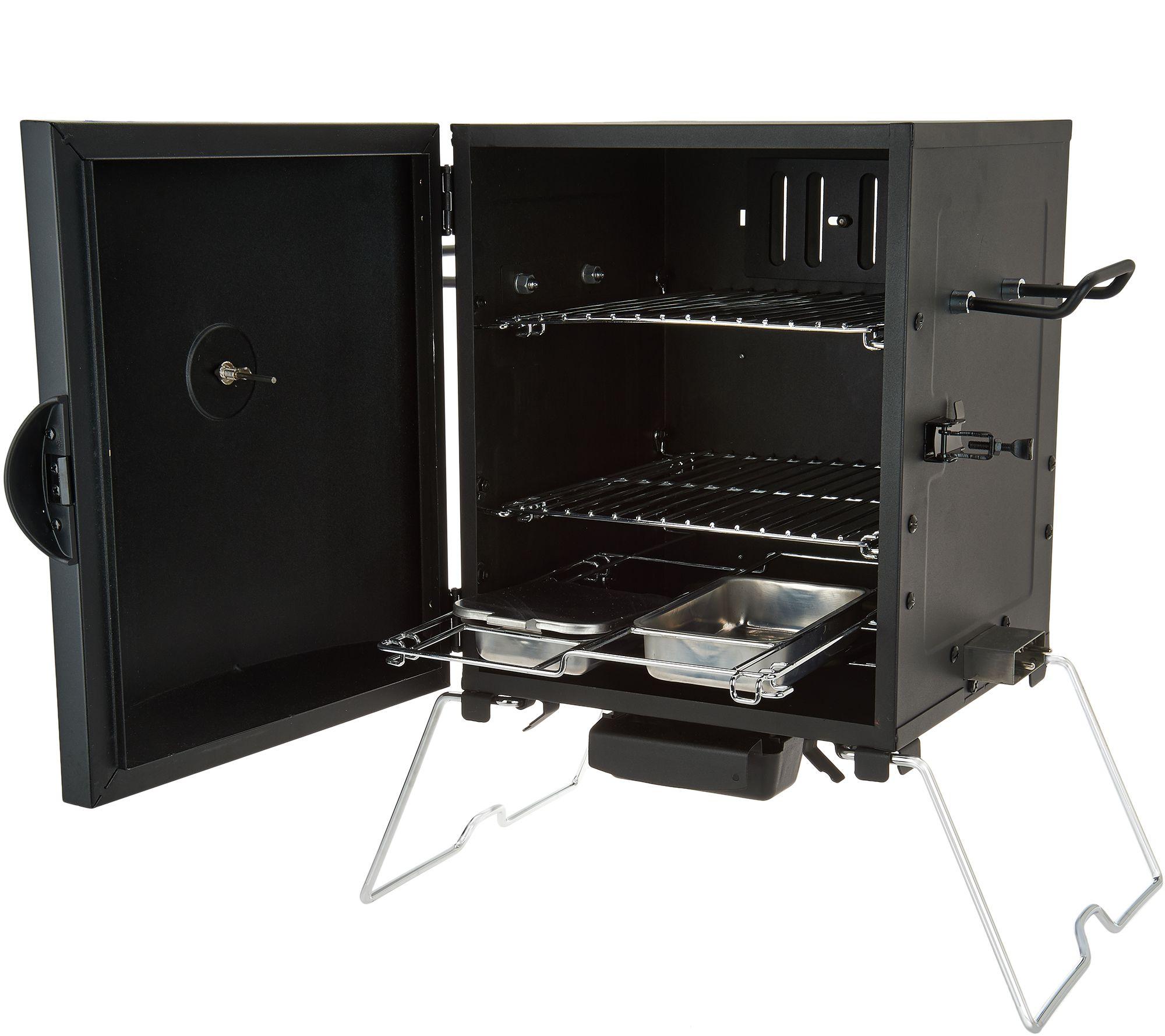 Masterbuilt 2 Rack Patio Amp Portable Electric Smoker With