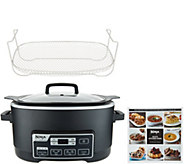 Ninja 6-qt 4-in-1 Multi-Cooker Plus w/ Steam & Roasting Rack - K48085