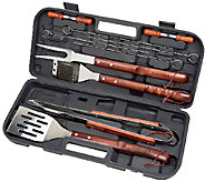 Cuisinart 13-Piece Wooden Handle Grilling Set - K304286