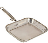 CooksEssentials Stainless Steel BBQ Pan with Removable Handle - K44386