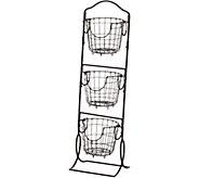 Gourmet Basics by Mikasa 3-Tier Market Basket - K46786