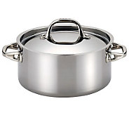 Anolon Tri-Ply Clad Stainless Steel 5-qt Covered Dutch Oven - K302887