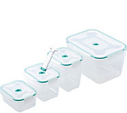 Honey-Can-Do Vac n Save 9-Piece Rectangular Set - K306687