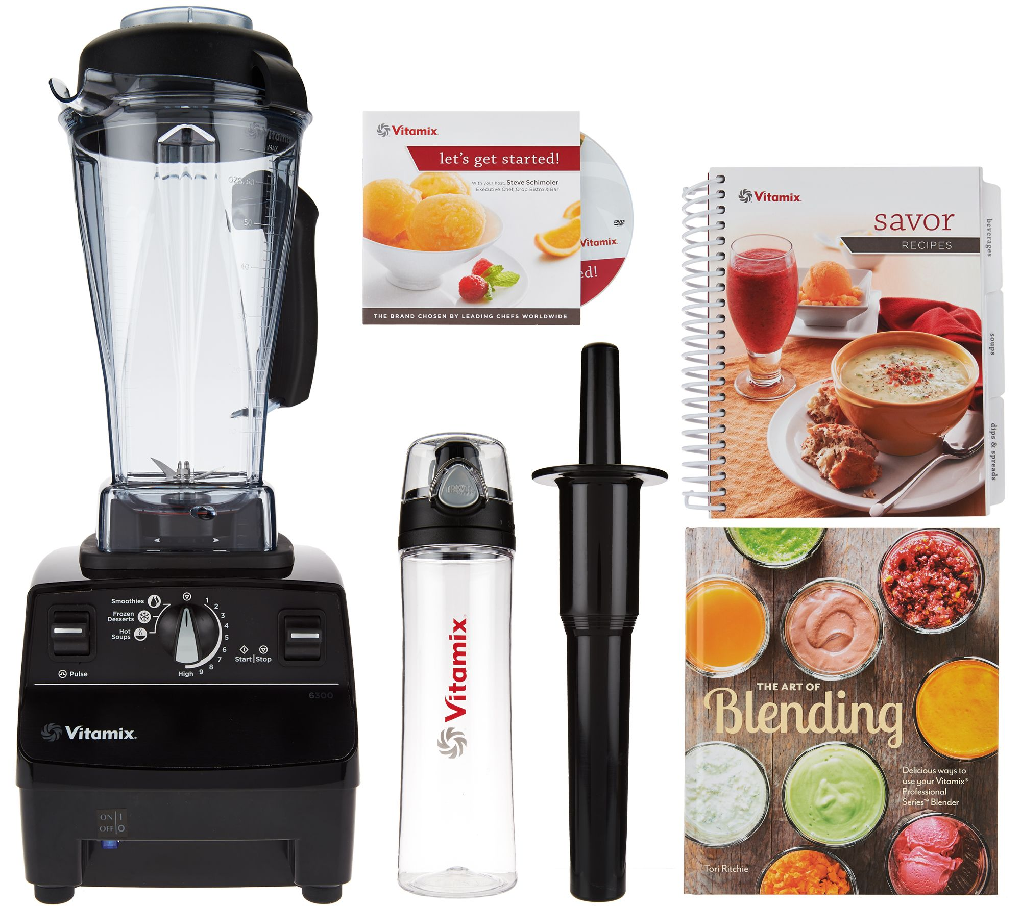 Vitamix 6300 Pre Programmed Variable Sd 13 In 1 Blender With 64 Oz Jar Page Qvc