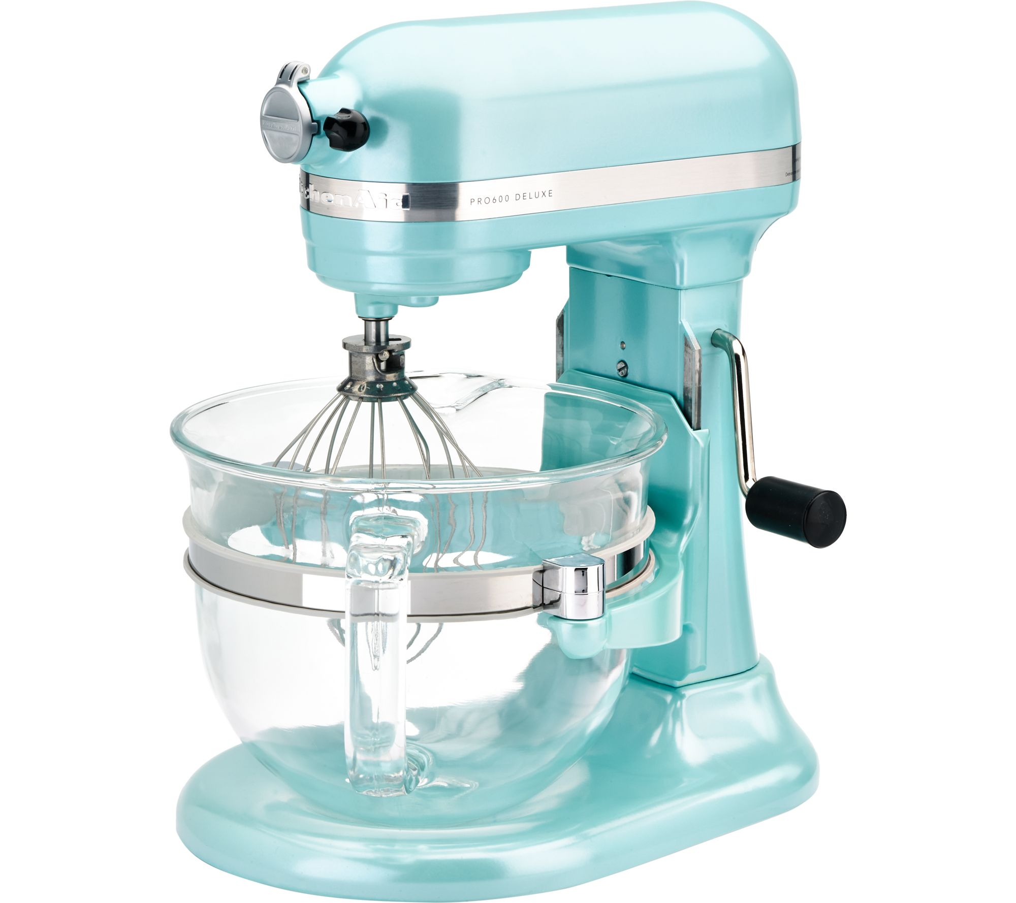 KitchenAid 6-qt 575 Watt Glass Bowl Lift Stand Mixer w/ Flex Edge ...