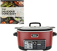 Ninja 4-in-1 Accutemp Cooking System w/ Auto-iQ & Recipe Book - K46588
