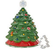 Temp-tations Christmas Tree Cookie Jar - K47788
