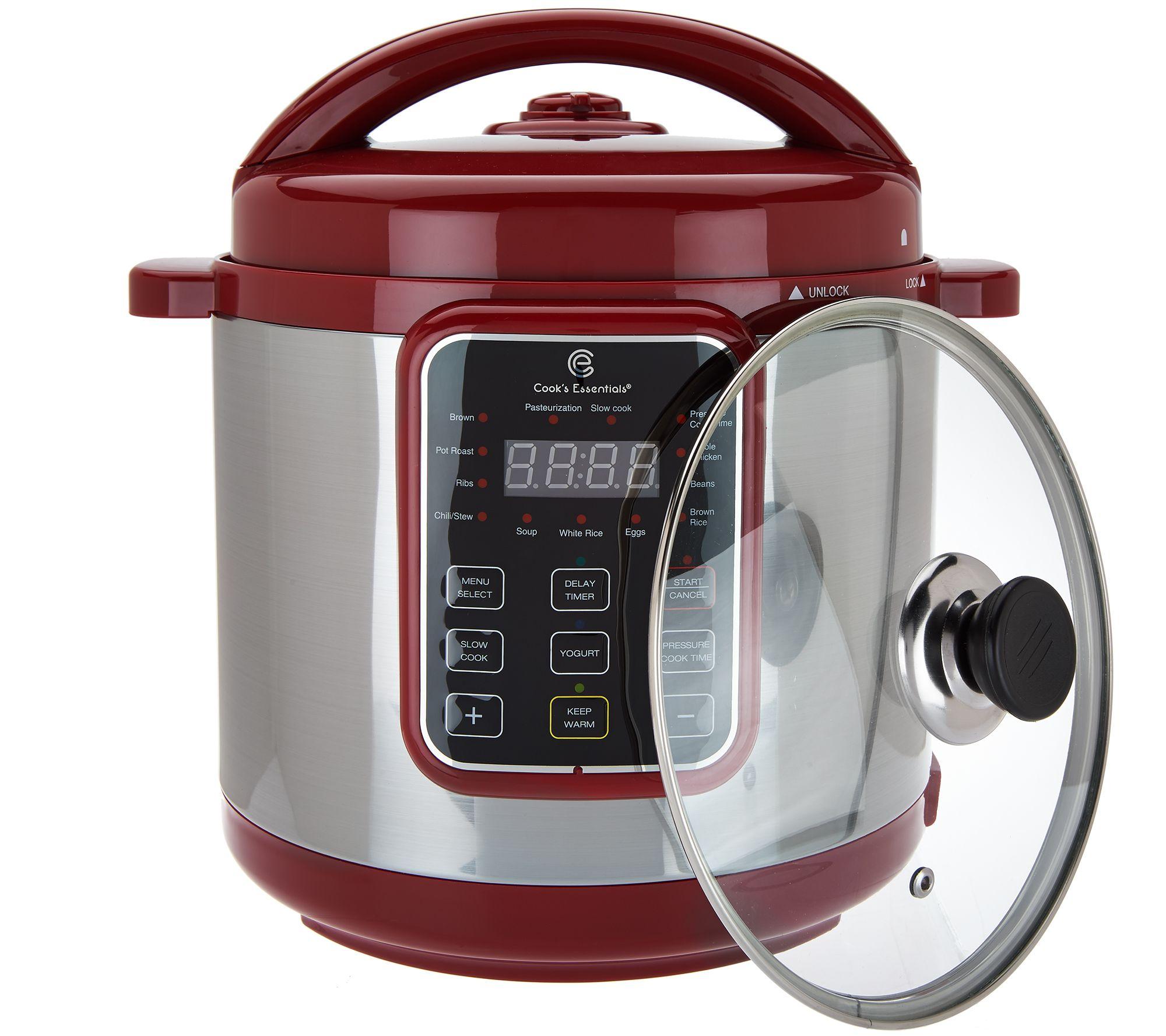 Cook's Essentials 6qt Sloped Panel Digital Pressure Cooker - Page 1 —  QVC.com