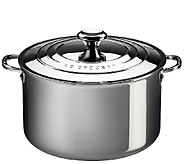 Le Creuset Stainless Steel 4-qt Stockpot with Lid - K303590