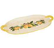 Pietra Italia Handmade Large Oval Serving Tray - K39390