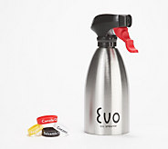 Evo 16 oz. Non-Aerosol Stainless Steel Oil Sprayer - K48792