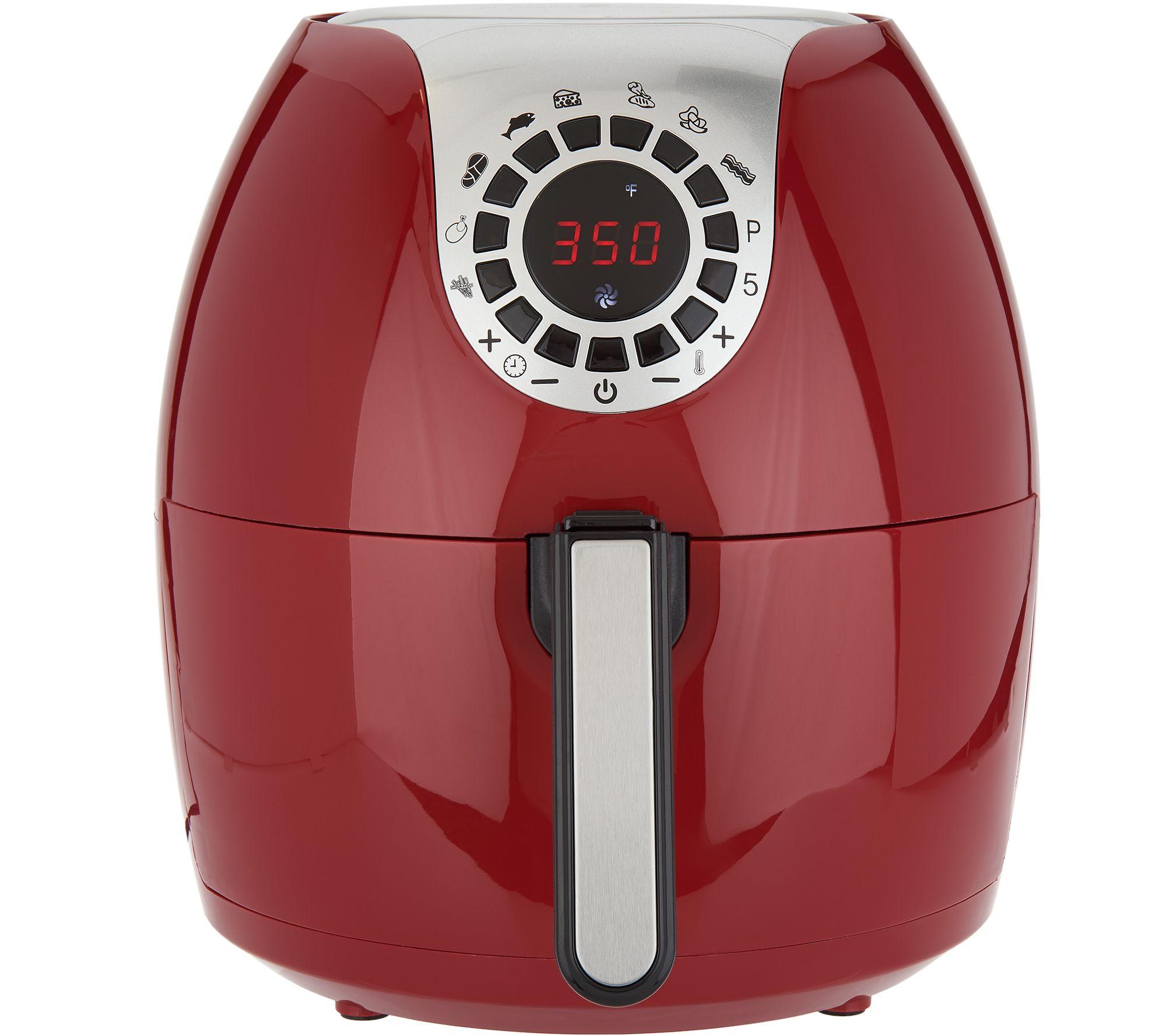 Cook's Essentials 5.3qt Digital Air Fryer w/ 10 Presets & Pan - Page 1 —  QVC.com