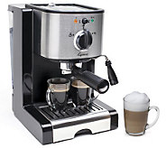 Capresso EC100 Espresso and Cappuccino Maker - K132194