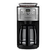 Cuisinart Grind & Brew 12-Cup Coffee Maker w/ Bean Hopper - K125595