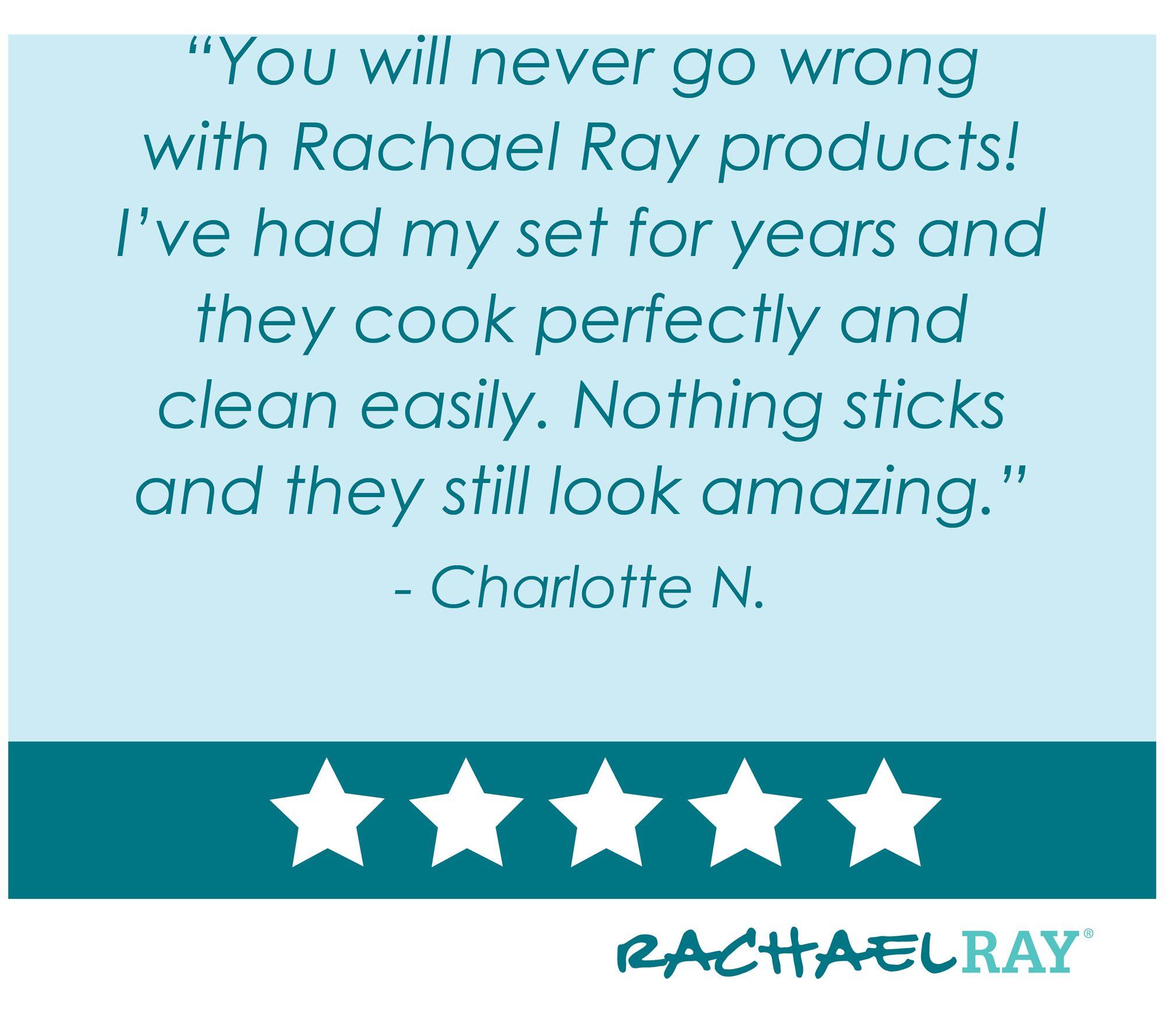 Rachael Ray Cucina Hard Enamel 12-Piece Cookware Set - Page 1 — QVC.com
