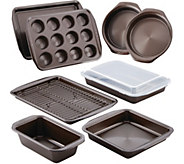 Circulon Nonstick 10-Piece Bakeware Set - Chocolate Brown - K375195