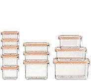 Wellslock 22-Piece Food Storage Container Deluxe Pack - K380695