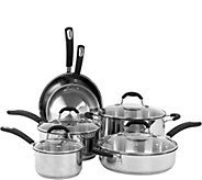 Oneida 10-Piece Stainless Steel Cookware Set - K306396
