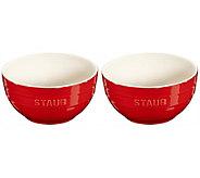 Staub Ceramic 2-Piece Large Universal Bowl Set - K378296