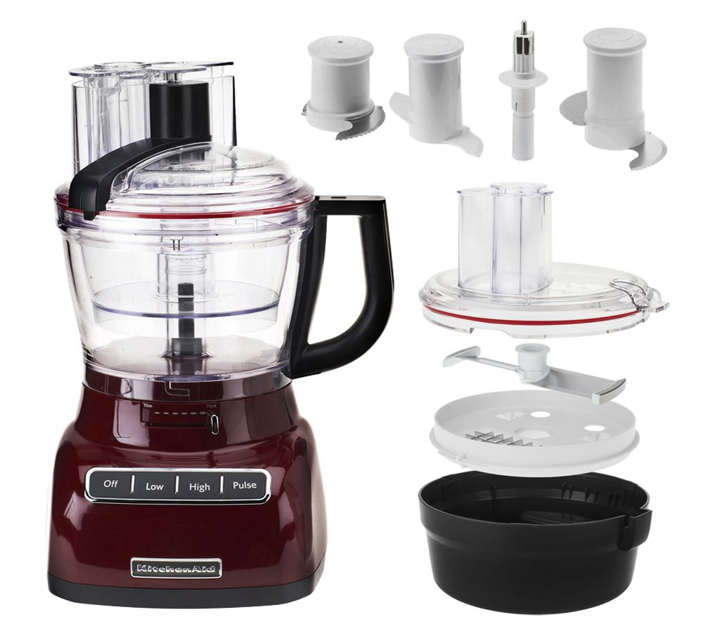 Kitchenaid 13 Cup Food Processor W Dicing Kit Exact Slice Qvc Com