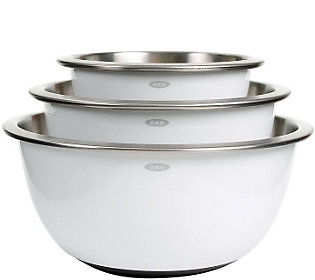 OXO Good Grips 3-pc Stainless-Steel Mixing Bowl