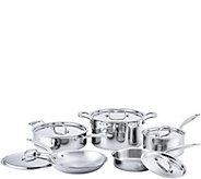Hammer Stahl Stainless Steel Clad 10-Piece Core Cookware Set - K375897