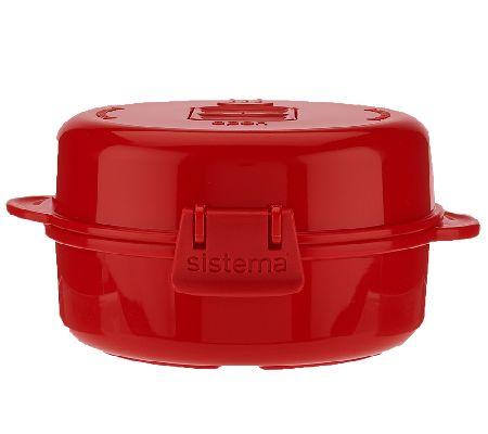 Sistema Red Microwave Easy Eggs Egg Omelette Maker 18001117 Wide Selection; Egg Poachers Food Preparation & Tools