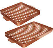 Copper Chef X-Design Choice of Size Barbecue Pan & Brush - K47397
