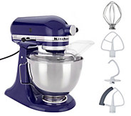 KitchenAid 4.5-qt 300W Tilt-Head Stand Mixer with Flex Edge - K48297