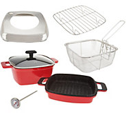 Cooks Essentials 7-Piece Cast Aluminum Cooking System - K45798