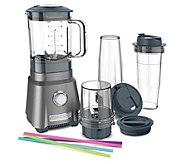 Cuisinart Hurricane Compact Juicing Blender w/2 Travel Cups - K376099