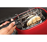 Toaster Buddies Set of 2 Stainless Steel Baskets - L43348
