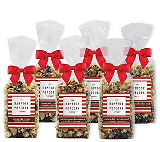 Hampton Popcorn Set of 6 Bow Bags