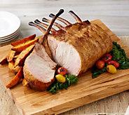Corkys BBQ 4-lb Bone-In Tomahawk Pork Roast with Glaze - M62000