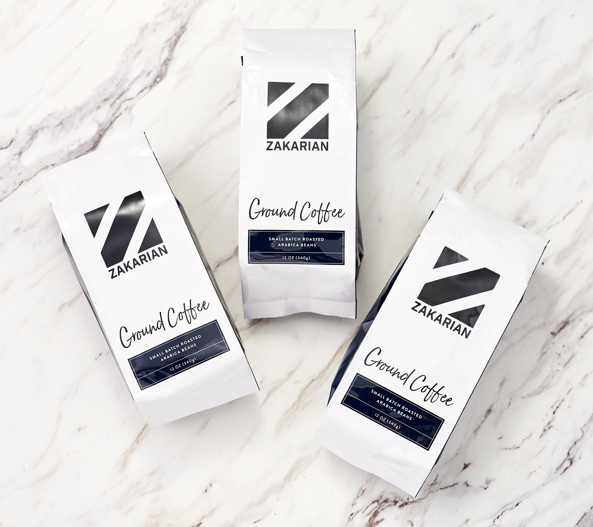 3-Pack Geoffrey Zakarian Arabica Coffee 12-oz Bag