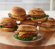 Charleston Gourmet Burger (12) Bacon or Brisket Topped Cheeseburgers - M56401