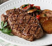 SH 4/8 Rastelli Market Fresh (10) 10-oz Black Angus Ribeye Steaks - M63101