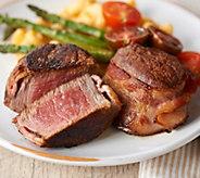 Kansas City (12) 4-oz Filet Mignon with Hickory Smoked Bacon - M59304
