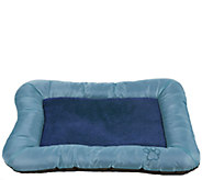 PETMAKER Plush Cozy Large Dog Crate Bed - M114805