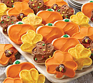 SH 11/5 Cheryls 24-pc Thanksgiving Frosted Cutouts - M59705