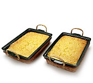 St. Clair 2/2 lb. Corn Souffle Trays - M106706